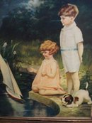 Charming Antique Picture - Print