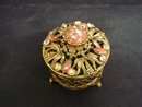 Jewelled Dresser Box Small Jewelry Box
