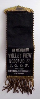 Valley View Lodge No.22  I O O F - RIBBON