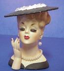 1958 Napco Head Vase ELEGANT LADY