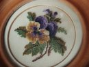 Petit Point Picture Pretty Pansy Blossom
