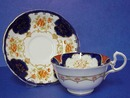 Gorgeous Aynsley China Cup & Saucer Hand Pntd.