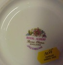 Royal Albert China Cup & Saucer Jacobian