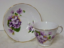 Royal Kent Cup & Saucer PRETTY