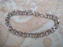 Pretty Vintage Sterling Silver Bracelet