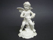 Cherub Figurine Germany Dresden Original