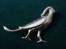 Brooch Sterling Bird