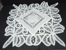 Amazing Centerpiece Battenburg Lace