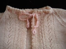 Antique Baby Jacket Knitted