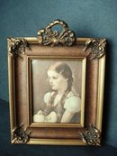 Victorian Framed Print Young Girl Peggy