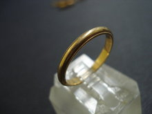 Elegant Gold Wedding Band Ring 14k