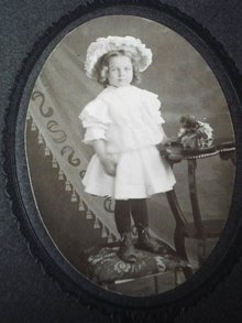 Antique Photo Little Doll