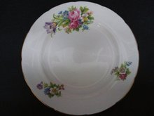 Plate by Foley China - Foley Tulip