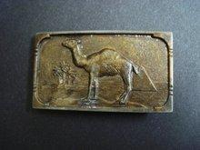 Ges Gesch Belt Buckle Camel
