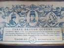 Tin Box by Cadbury Three British Queens