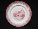 Plate by H M Sutherland China Warwick Castle