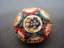 Antique Mosaic Brooch