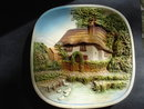 Antique Wall Plaque English Cottage