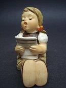 Hummel/Goebel Figurine Girl with Sheet Music