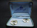 Sterling Cuff Links Black Alaska Diamond