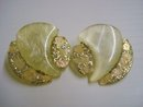 Antique Deco Earrings CLip Style