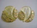Antique Deco Earrings CLip Style