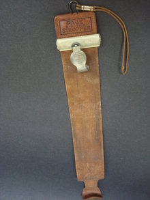 Antique Belt  Stropper by Page Belting Co