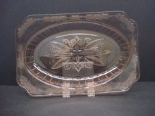 Depression Glass Dish Pink