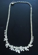 Antique Sherman Necklace Diamante
