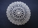 Antique Tatted Doily Miniature