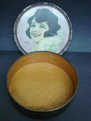 Bebe Daniels Tin Box signed Henry Clive