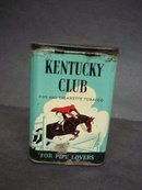 Tobacco Tin Box Kentucky Club