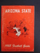 1958 Football Gude for Newspapers Radio TV