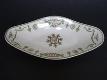 Antique Limoge Dish Unique Royal Decoration