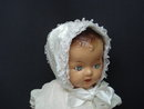 Beautiful Vintage Satin Hat for Baby or Doll