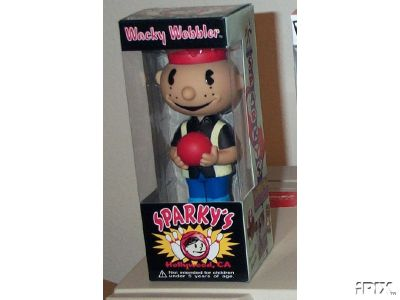 Sparky Bowler Wacky Wobbler Bobber Nodder