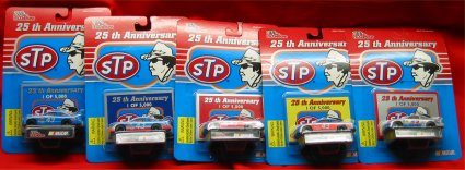 Richard Petty Racing Champions 25th Anniversary Race Car Set
