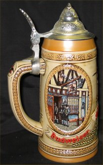 Budweiser Tavern & Public House Lidded Beer