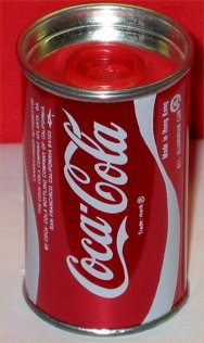 1970s Coca Cola  Can Pencil Sharpener