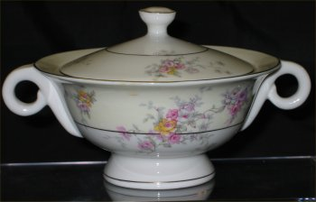 Haviland Gloria Sugar Bowl