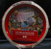 Coca Cola 1982 Worlds Fair Tray