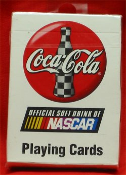Coca Cola NASCAR Playing Cards - 1999