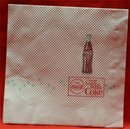1960s Coca Cola Paper Napkin - Things Go Better with Coke