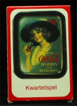 Belgian Coca Cola Kwartetspel  Playing Cards - 1980s