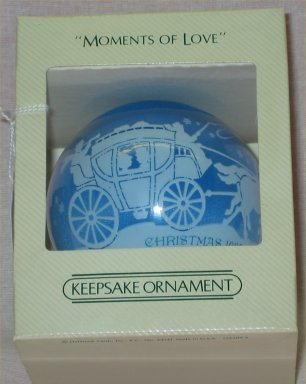 Hallmark Moments of Love Ornament  - 1982