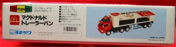 McDonalds Japanese T-65 Tractor Trailer - 1986