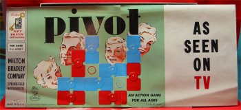 1958 Pivot Game by Milton Bradley