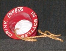 1950s Coca Cola Cap and Ball Game