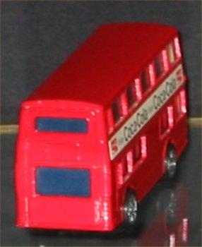 Coca Cola Die Cast Double Decker London Bus