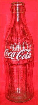1976 Coca Cola ACL Display Bottle